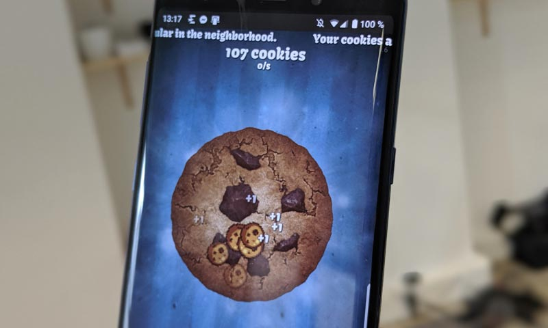 clear cookies in iphone
