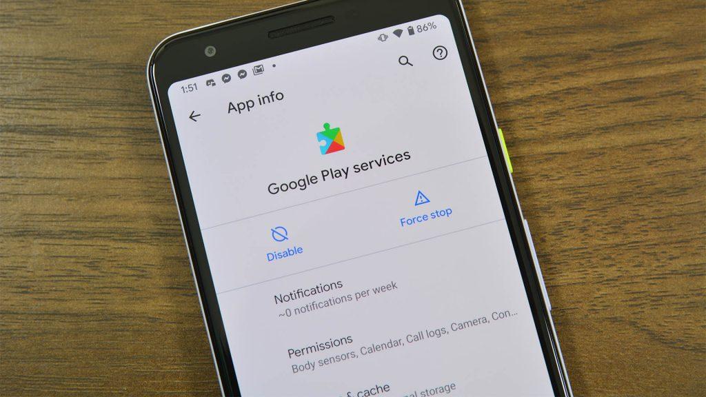 Google Play Services Hidden Settings